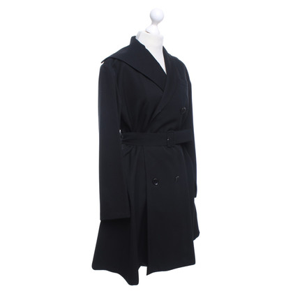 Yohji Yamamoto Coat in zwart