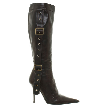 Gianmarco Lorenzi Boots in dark brown