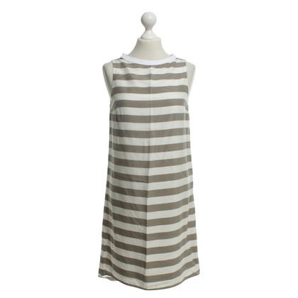 Brunello Cucinelli Kleid mit Streifenmuster