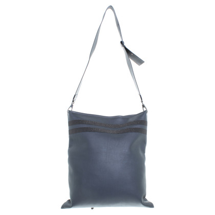 Brunello Cucinelli Leather handbag in grey