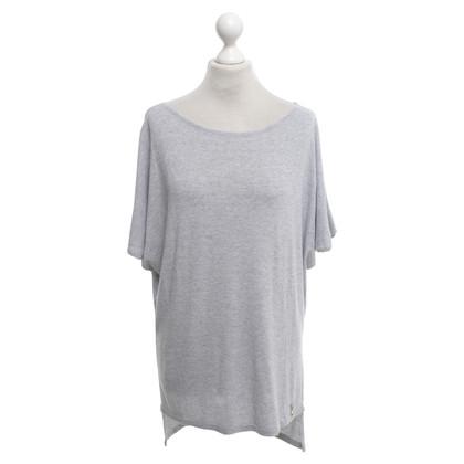 Patrizia Pepe camicia Knit in grigio