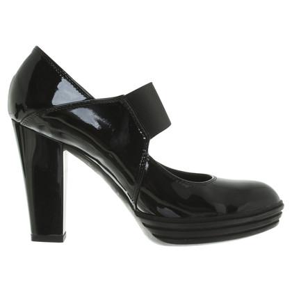 Hogan pumps in zwart