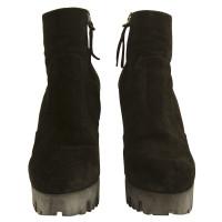 Miu Miu Black ankle boots