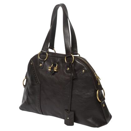 "Yves Saint Laurent ""Muse Bag"" in marrone"
