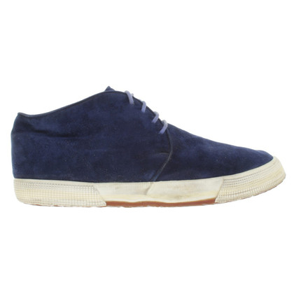 Jil Sander Suede lace-up shoes