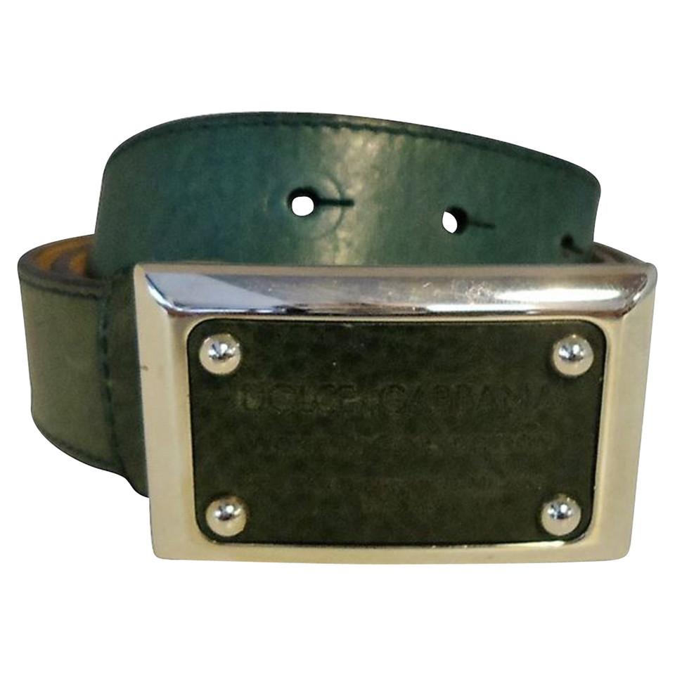 Dolce & Gabbana cintura di pelle