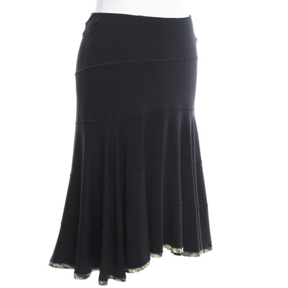 Roberto Cavalli skirt in black