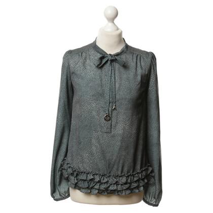 Patrizia Pepe Patch-print blouse