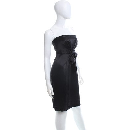 Philosophy di Alberta Ferretti Silk dress in black