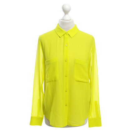 Other Designer Samsøe & Samsøe - blouse in neon yellow