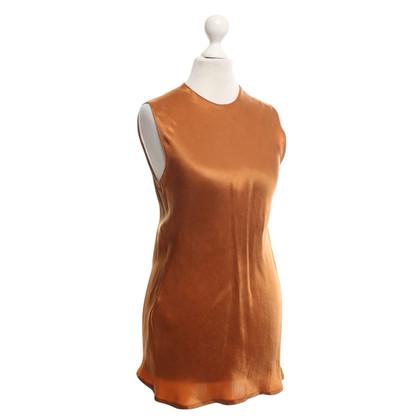 Calvin Klein optique de soie longue chemise