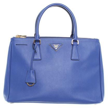 """Prada """"Galleria"""" Bag in blu"""