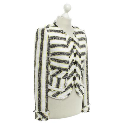 MSGM Box vest met streeppatroon