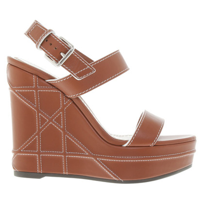 Christian Dior Wedges in brown