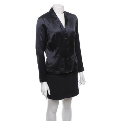 Van Laack Zijden blouse in blazerlook