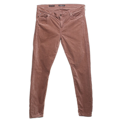 7 For All Mankind Hose in Altrosa