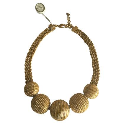 Christian Dior Collana in oro placcato