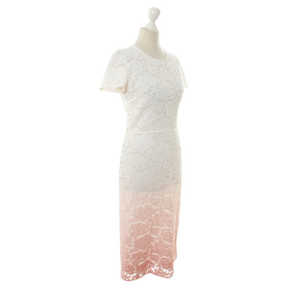 Burberry Prorsum Lace dress with color gradient