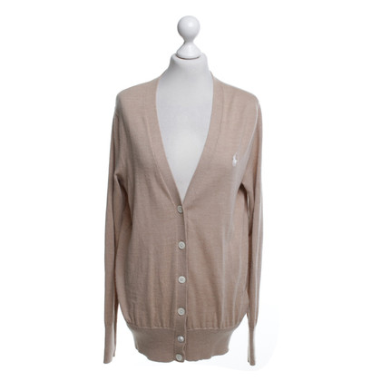 Ralph Lauren Knitted cardigan in beige