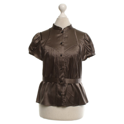 Carolina Herrera Silk blouse in brown