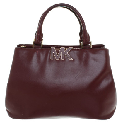 Michael Kors Handbag in Bordeaux