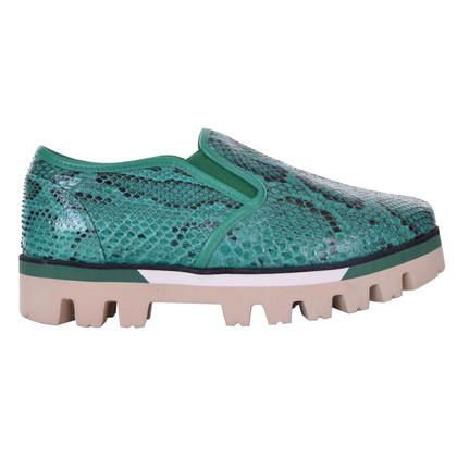 Dolce & Gabbana Slip Ons mit Plateausohle