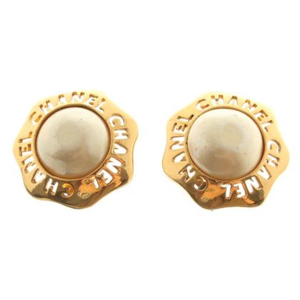 Chanel Vintage Clip oorbellen