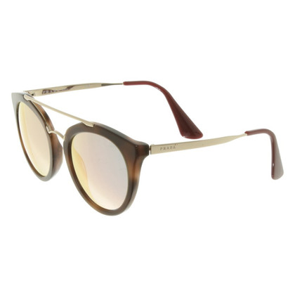Prada Sunglasses with round glasses