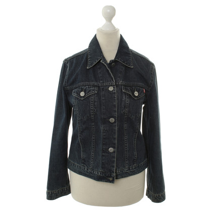 JOOP! Denim vest in donkerblauw