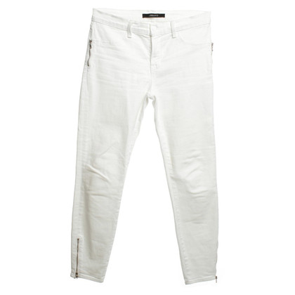 J Brand trousers in white