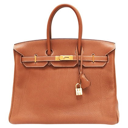 "Hermès ""Leather Birkin Bag 35 Togo"""