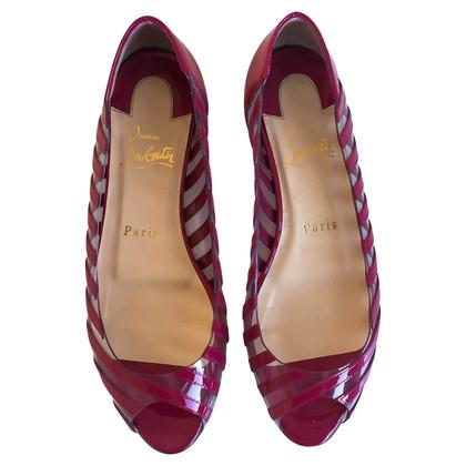 Christian Louboutin Patent Leather Flats