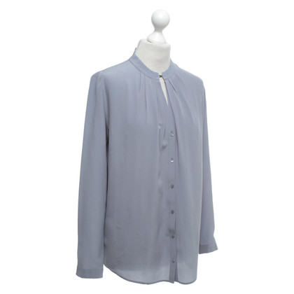 Hugo Boss Bluse in Taubenblau