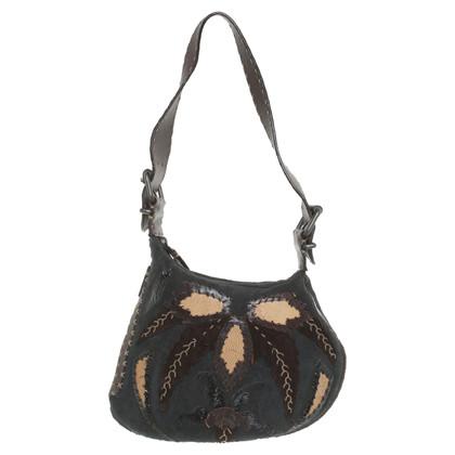 Fendi Kleine Handtasche in Braun