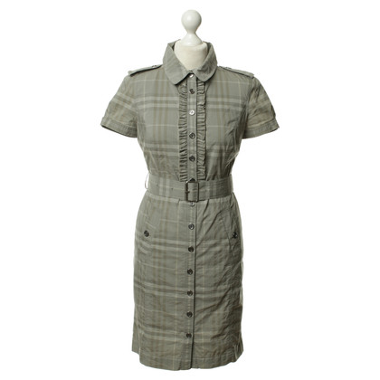 Burberry Plaid dress in grey