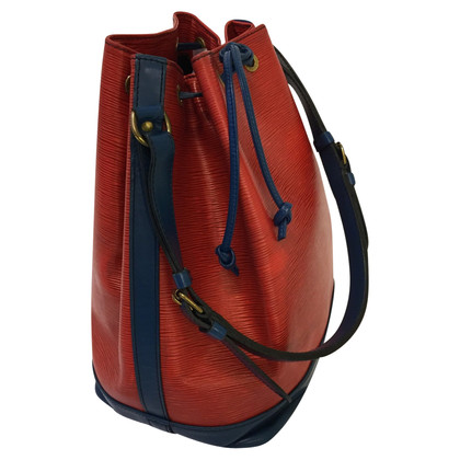 "Louis Vuitton ""Grand Noé Epi leather"" in blue / red"