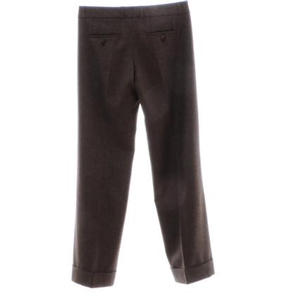 Turnover Brown wool pants