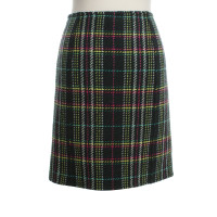 Max Mara skirt with check pattern