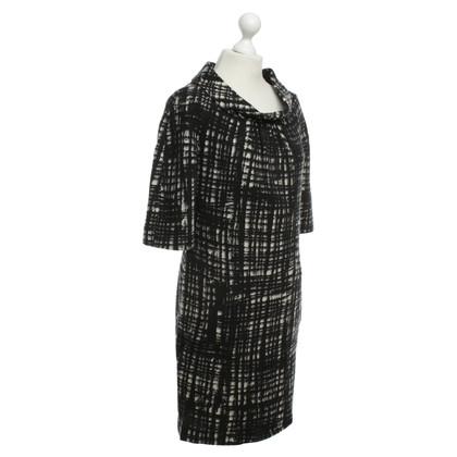 Michael Kors Wol gedessineerde jurk