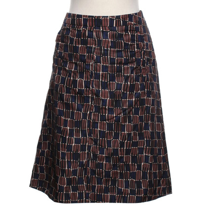 Prada skirt with pattern