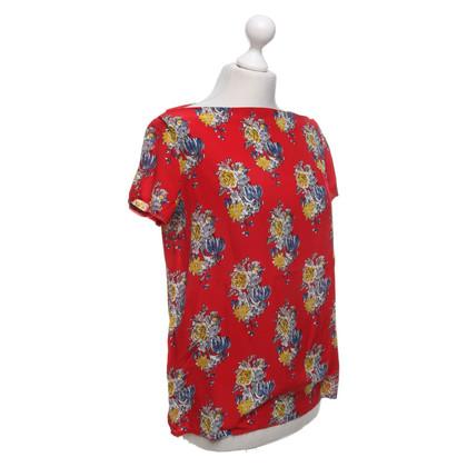 Miu Miu Oberteil mit floralem Muster