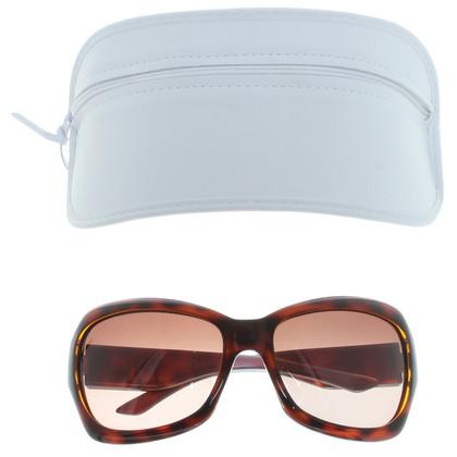 Christian Dior Sonnebrille mit Schildpattmuster