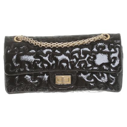 "Chanel ""2,55 heruitgave Flap Bag puzzel 226"" in lakleer"