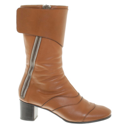 "Chloé ""Lexie Boots"" in brown"