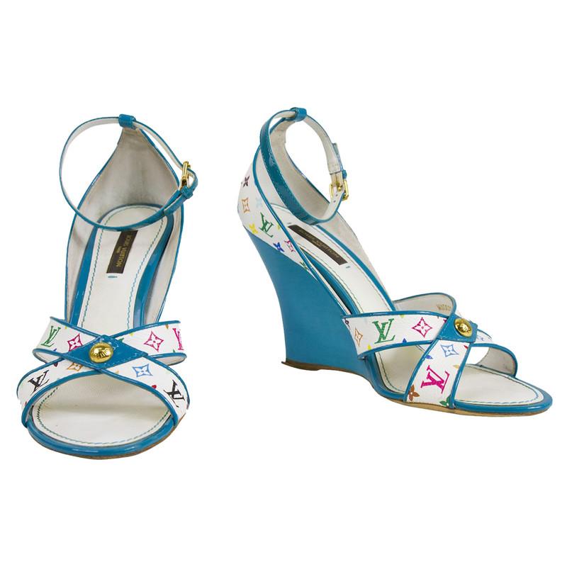 Occasion - Wedge sandalsLouis Vuitton 7QQ2mm2ctD