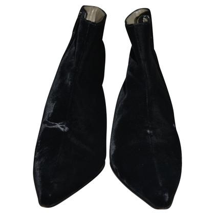 Prada Velvet Boots