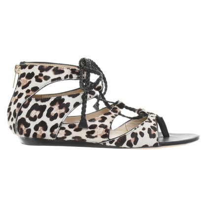 Jimmy Choo Sandals with animal print