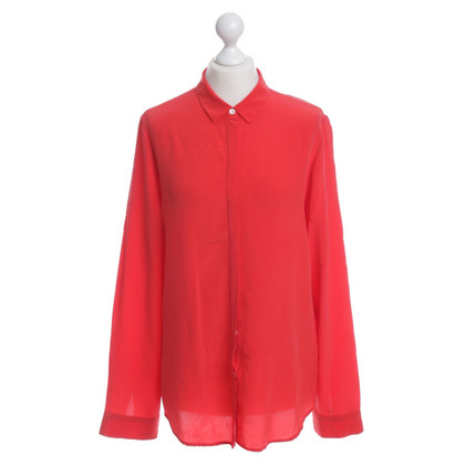 Filippa K Silk blouse in red
