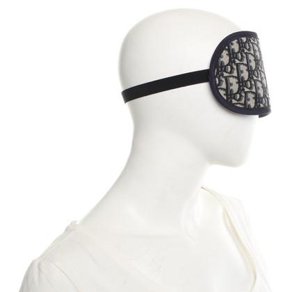 Christian Dior maschera di sonno in blu scuro