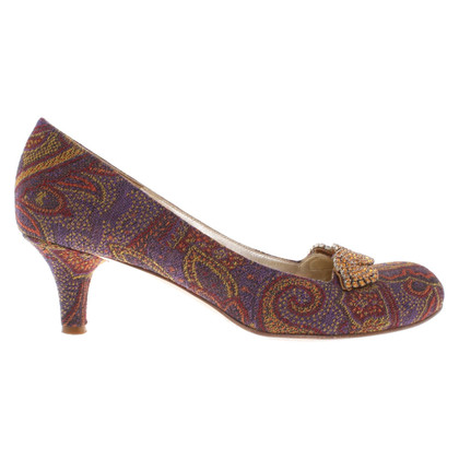 Etro pumps with pattern